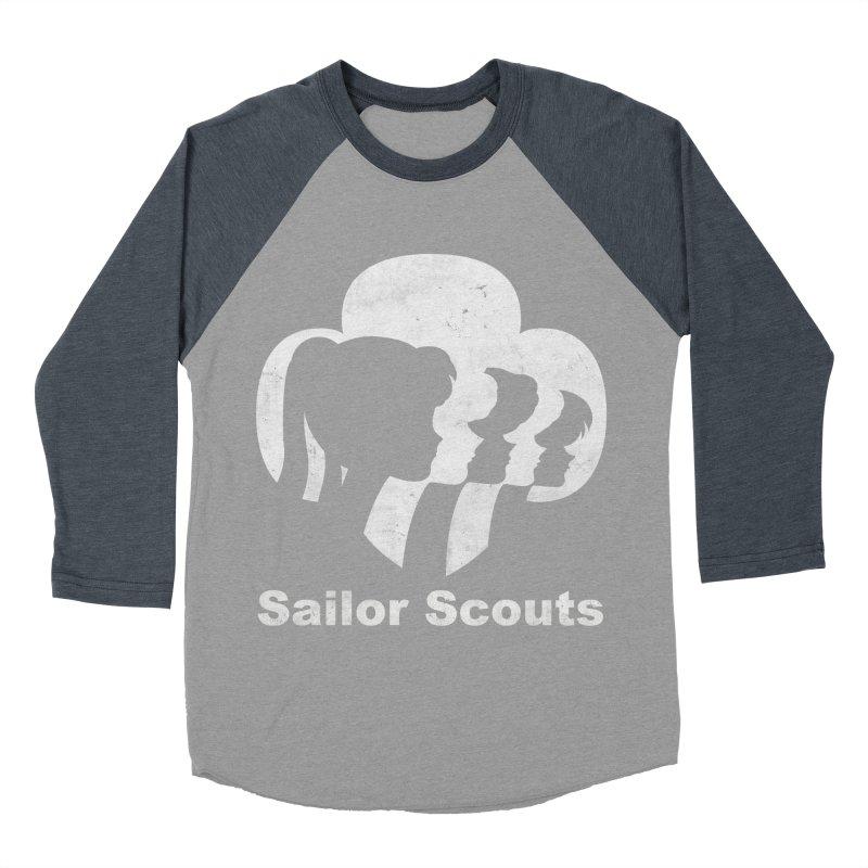 Sailor Scouts Men's Baseball Triblend T-Shirt by lirovi's Artist Shop