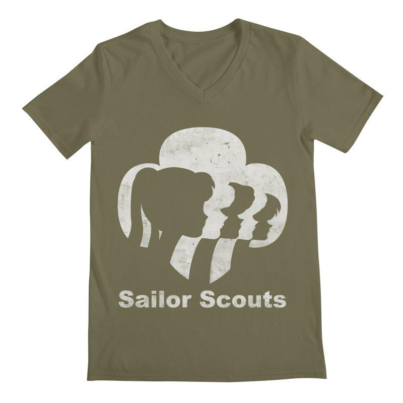 Sailor Scouts Men's V-Neck by lirovi's Artist Shop