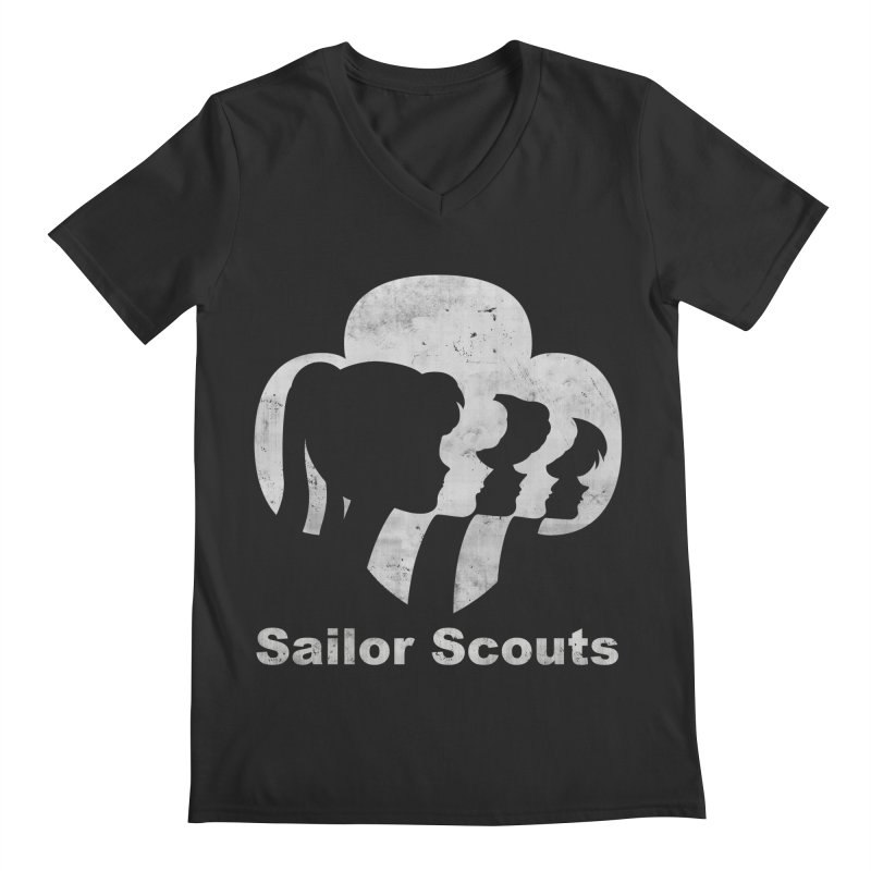 Sailor Scouts Men's V-Neck by lirovi's Artist Shop