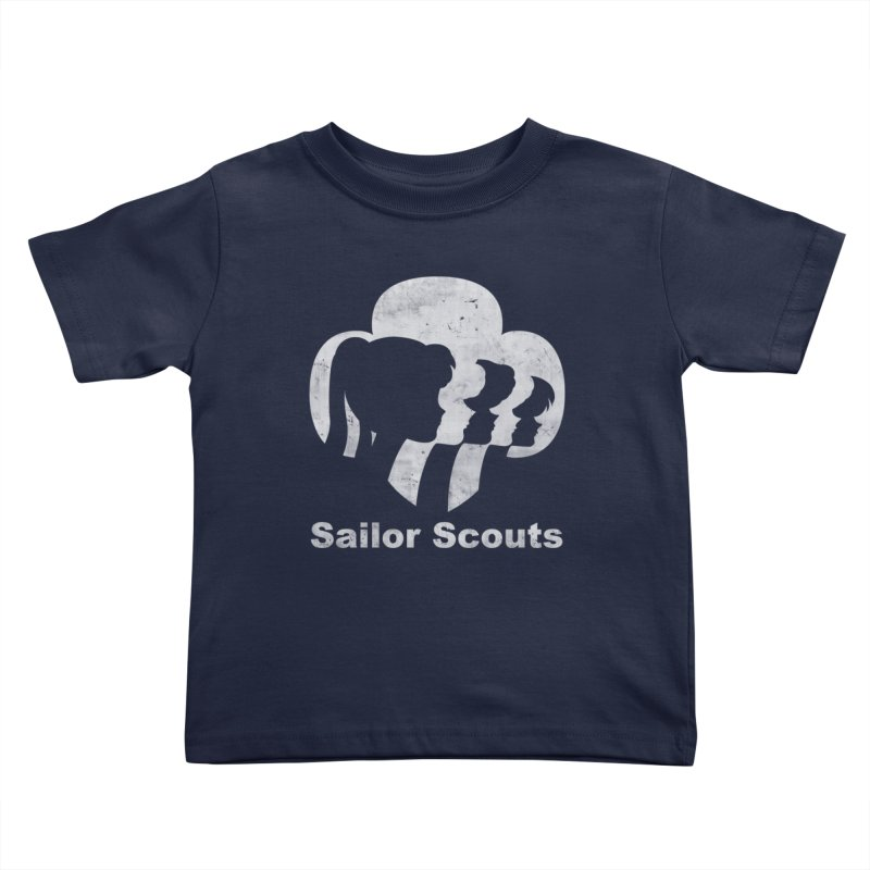 Sailor Scouts Kids Toddler T-Shirt by lirovi's Artist Shop