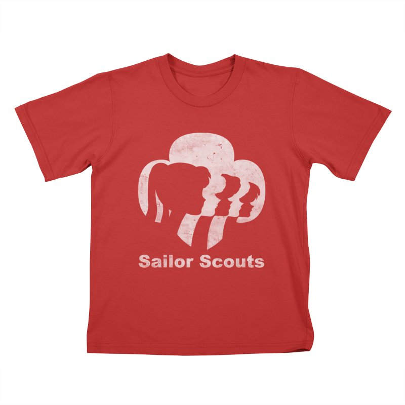 Sailor Scouts Kids T-Shirt by lirovi's Artist Shop