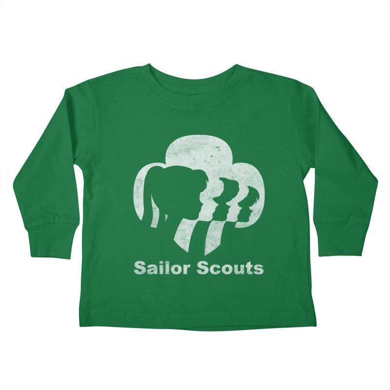 Sailor Scouts Kids Toddler Longsleeve T-Shirt by lirovi's Artist Shop