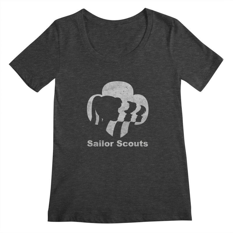 Sailor Scouts Women's Scoopneck by lirovi's Artist Shop