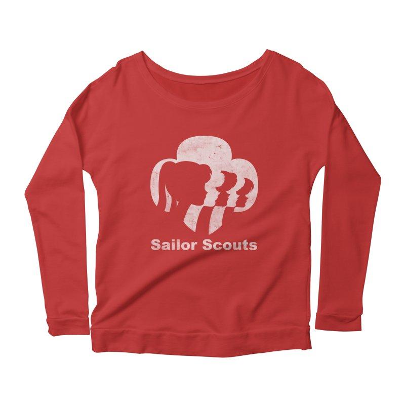 Sailor Scouts Women's Longsleeve Scoopneck  by lirovi's Artist Shop