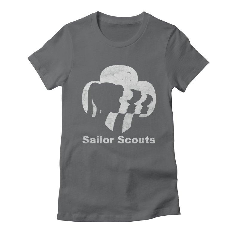 Sailor Scouts Women's Fitted T-Shirt by lirovi's Artist Shop