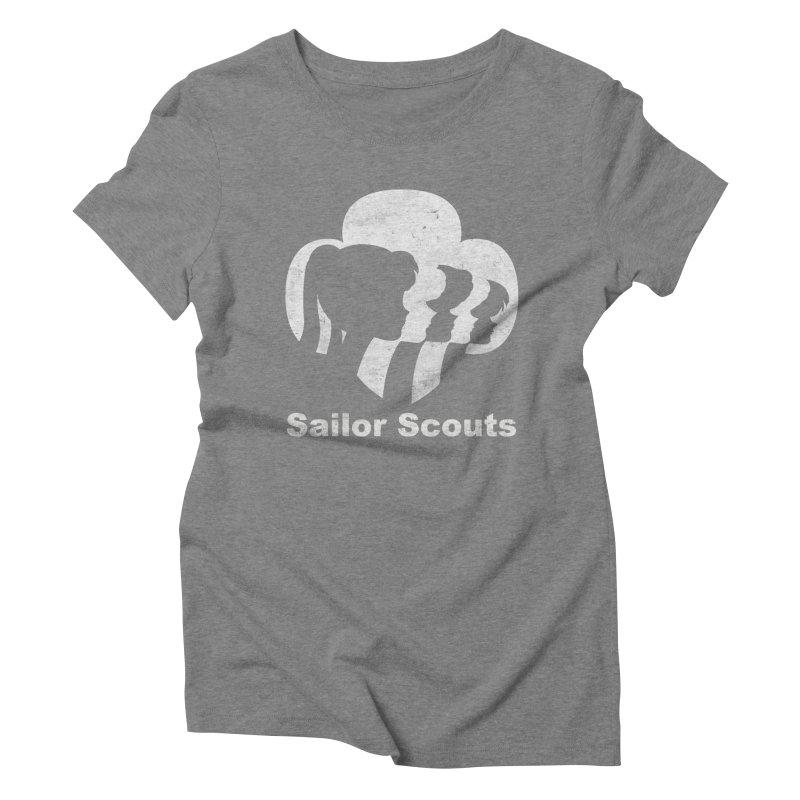Sailor Scouts Women's Triblend T-Shirt by lirovi's Artist Shop
