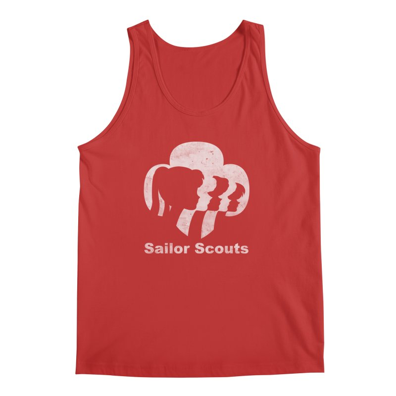Sailor Scouts Men's Tank by lirovi's Artist Shop