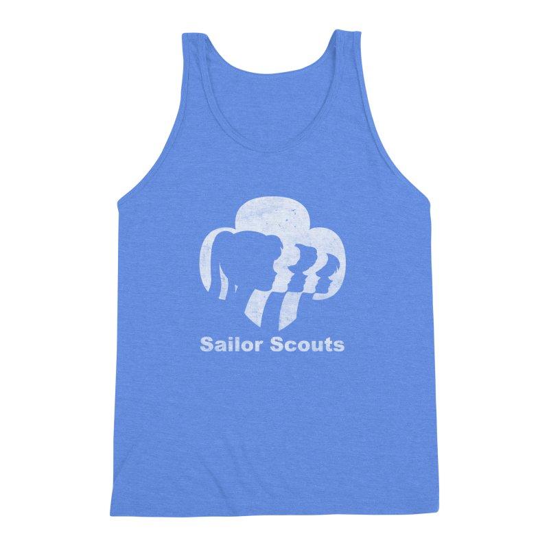 Sailor Scouts Men's Triblend Tank by lirovi's Artist Shop