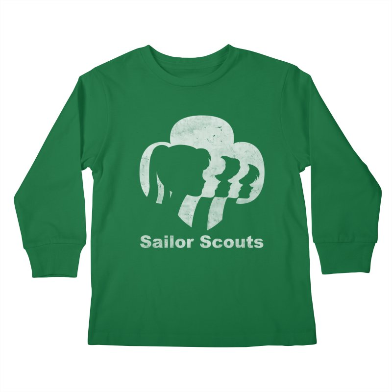 Sailor Scouts Kids Longsleeve T-Shirt by lirovi's Artist Shop