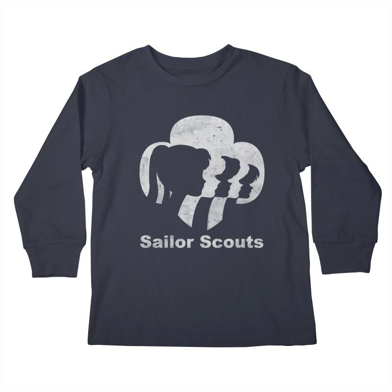 Sailor Scouts Kids Longsleeve T-Shirt by lirovi's Artist Shop