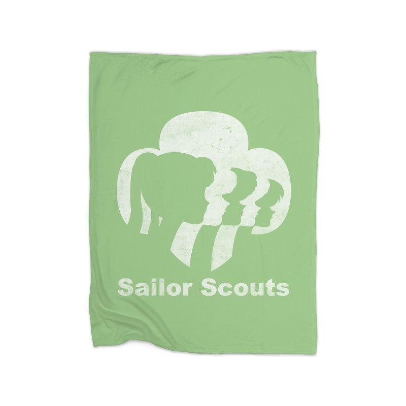 Sailor Scouts Home Blanket by lirovi's Artist Shop