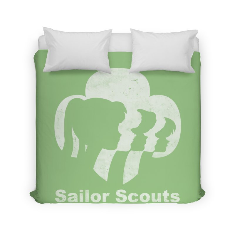 Sailor Scouts Home Duvet by lirovi's Artist Shop