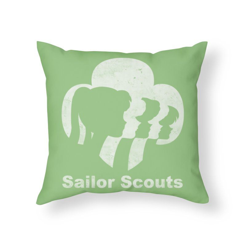 Sailor Scouts Home Throw Pillow by lirovi's Artist Shop