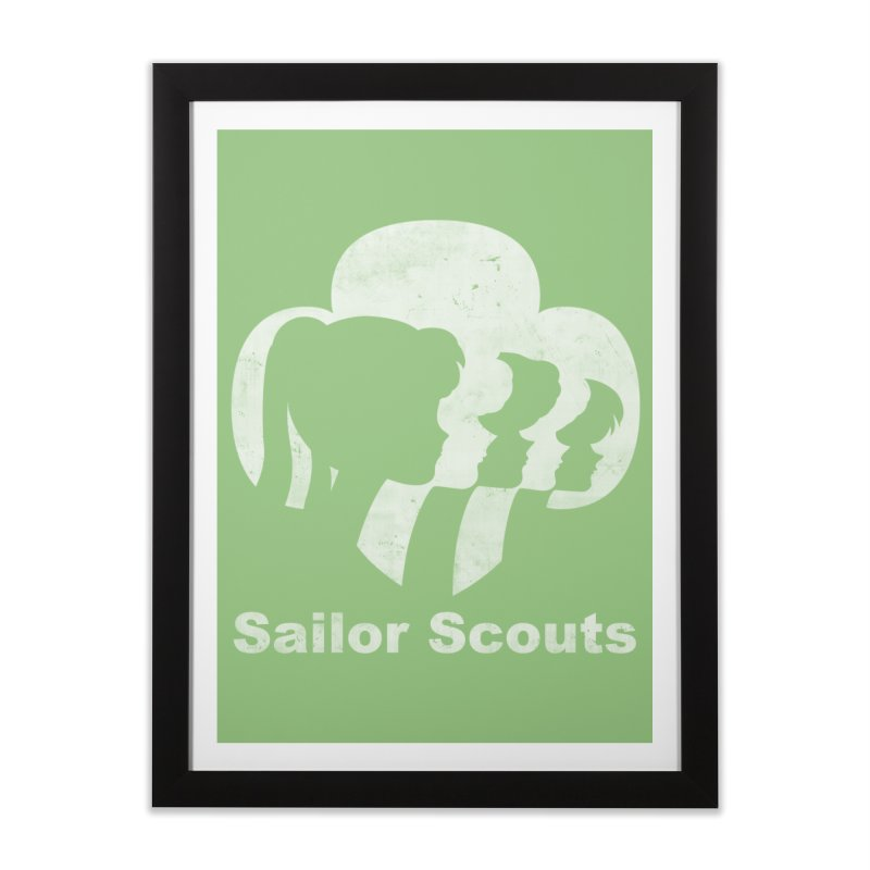 Sailor Scouts Home Framed Fine Art Print by lirovi's Artist Shop