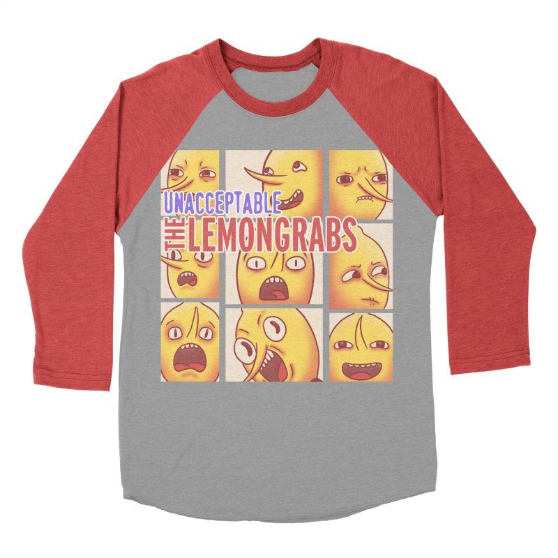 Unacceptable Men's Baseball Triblend T-Shirt by lirovi's Artist Shop