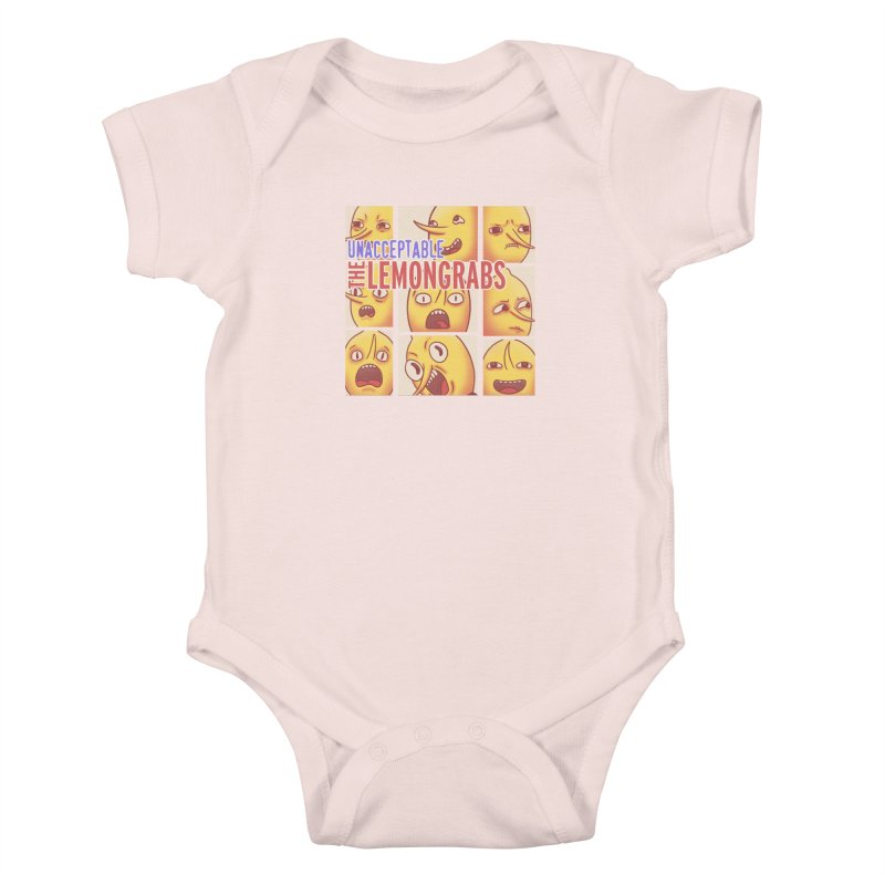 Unacceptable Kids Baby Bodysuit by lirovi's Artist Shop
