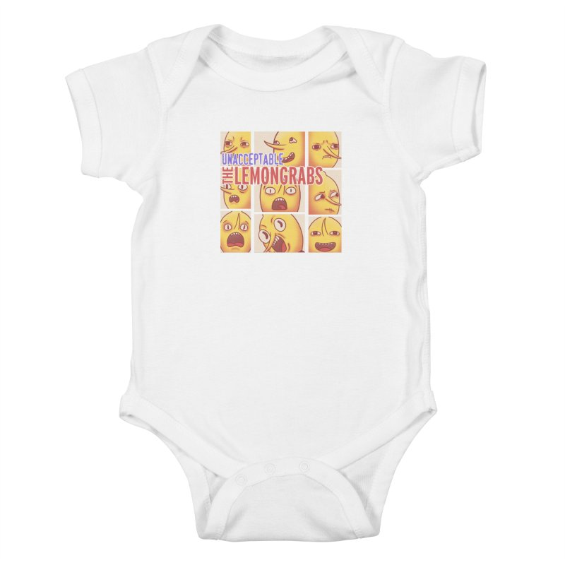 Unacceptable Kids Baby Bodysuit by lirovi's Artist Shop
