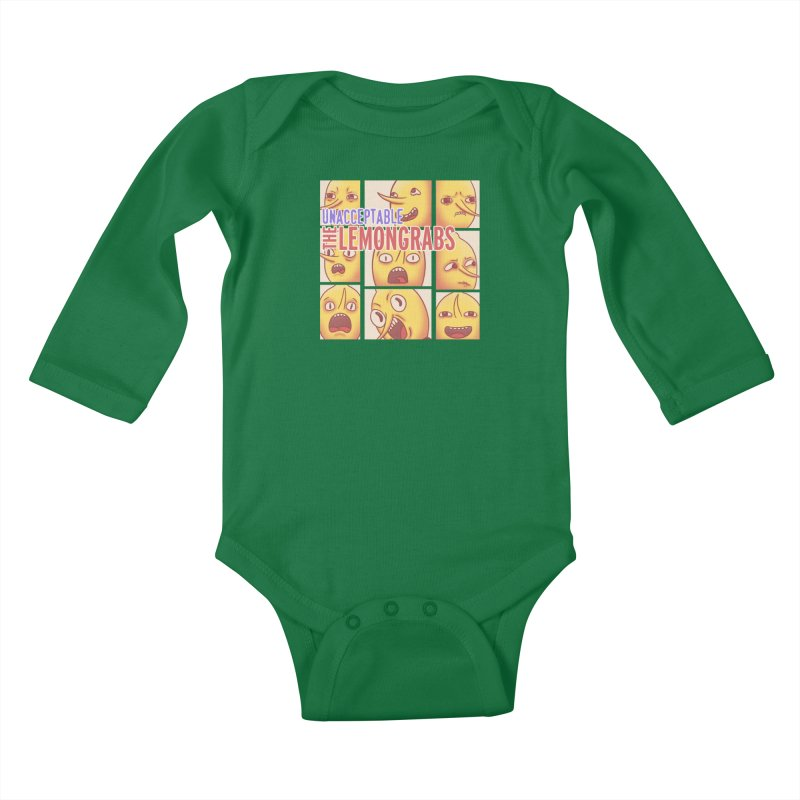 Unacceptable Kids Baby Longsleeve Bodysuit by lirovi's Artist Shop