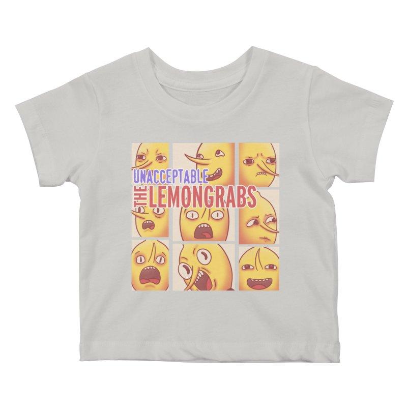 Unacceptable Kids Baby T-Shirt by lirovi's Artist Shop