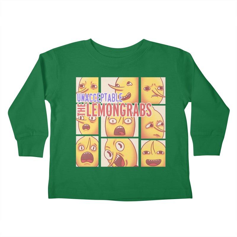 Unacceptable Kids Toddler Longsleeve T-Shirt by lirovi's Artist Shop