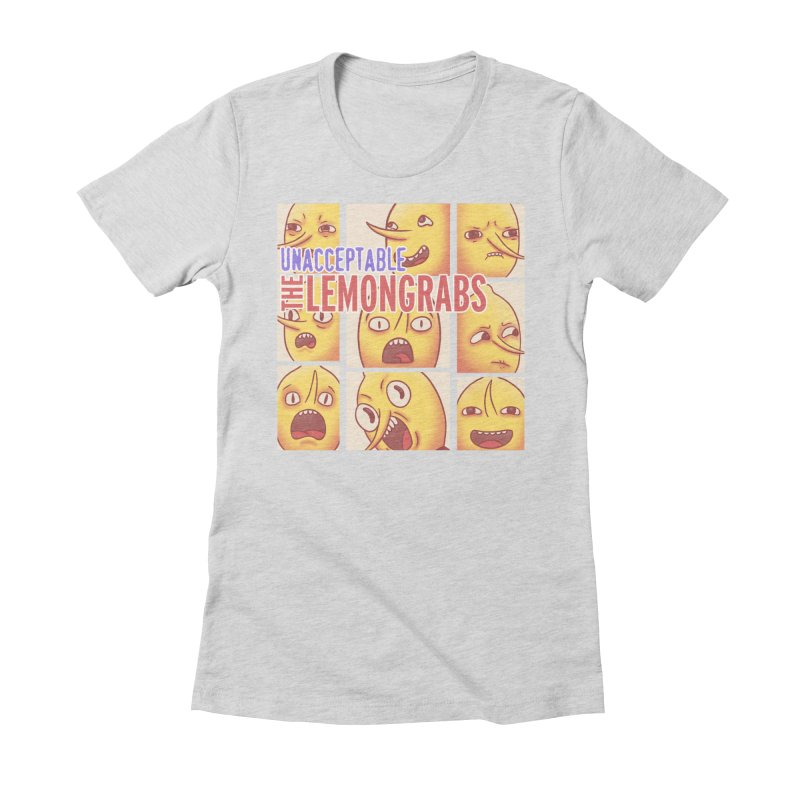 Unacceptable Women's Fitted T-Shirt by lirovi's Artist Shop