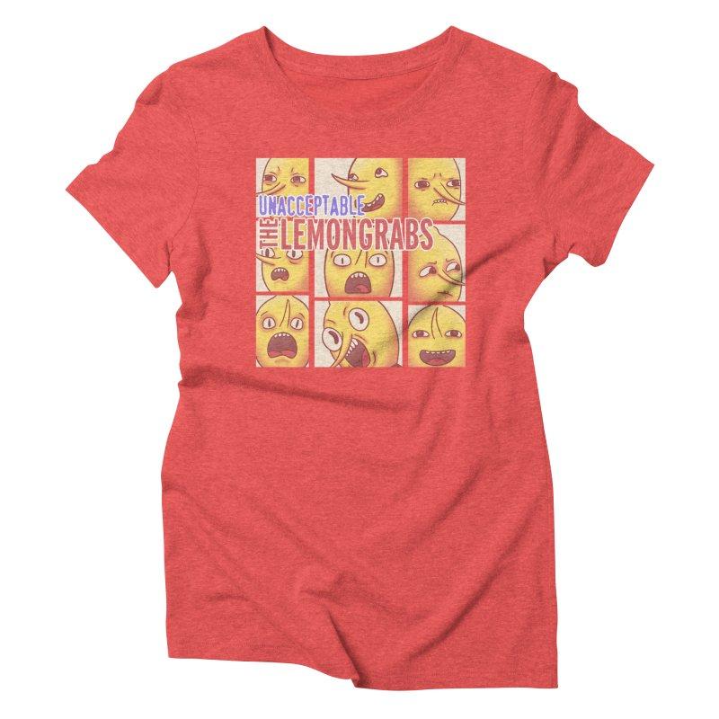 Unacceptable Women's Triblend T-Shirt by lirovi's Artist Shop