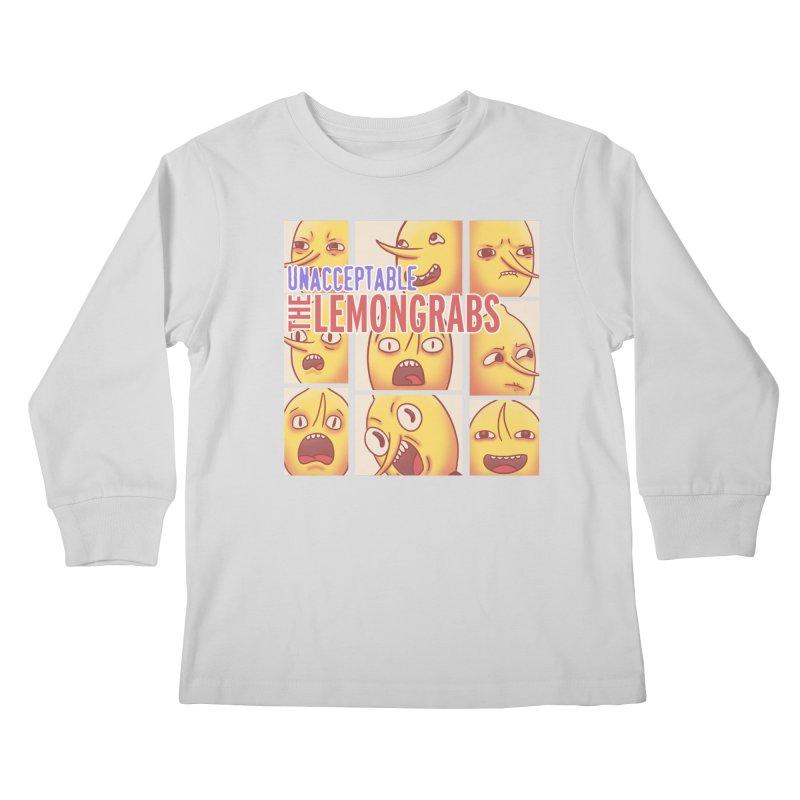 Unacceptable Kids Longsleeve T-Shirt by lirovi's Artist Shop