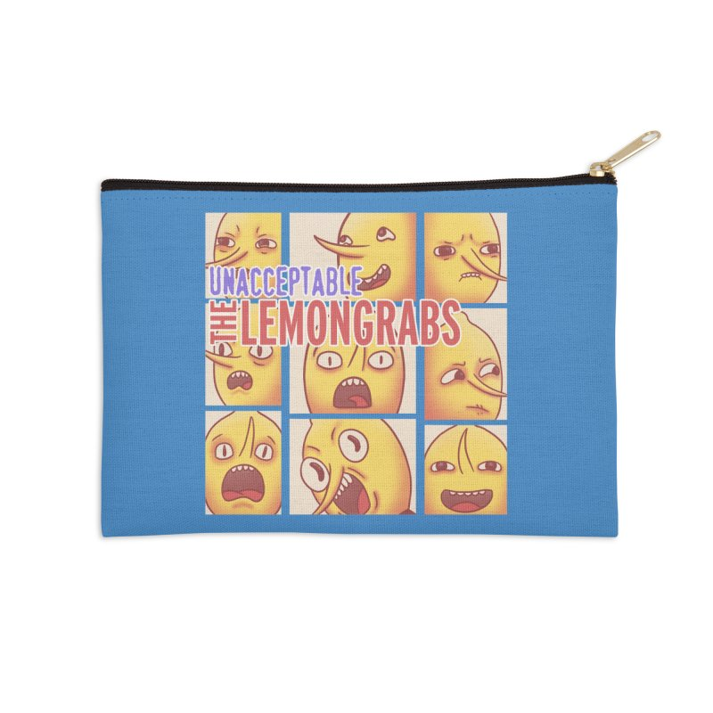 Unacceptable Accessories Zip Pouch by lirovi's Artist Shop
