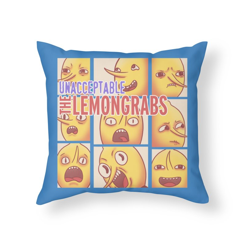 Unacceptable Home Throw Pillow by lirovi's Artist Shop