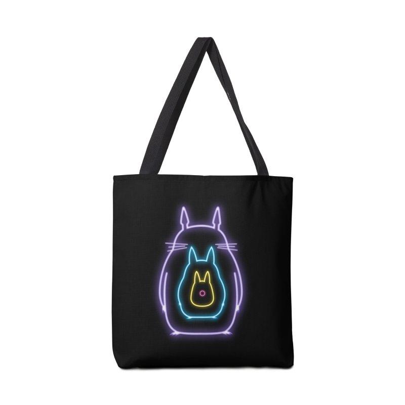 My Neon Neighbors Accessories Bag by lirovi's Artist Shop