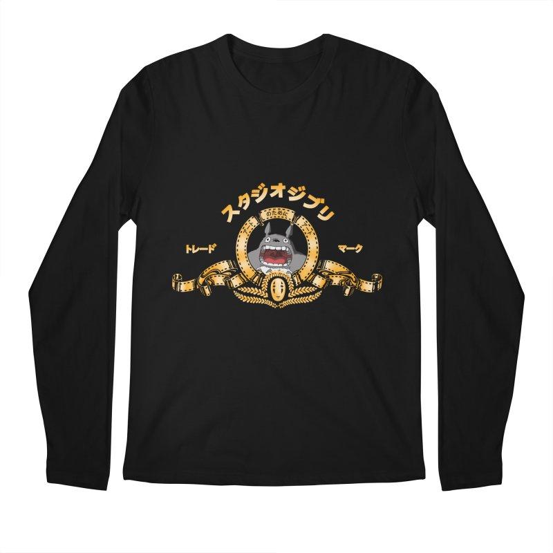Ghibli Republic Men's Longsleeve T-Shirt by lirovi's Artist Shop
