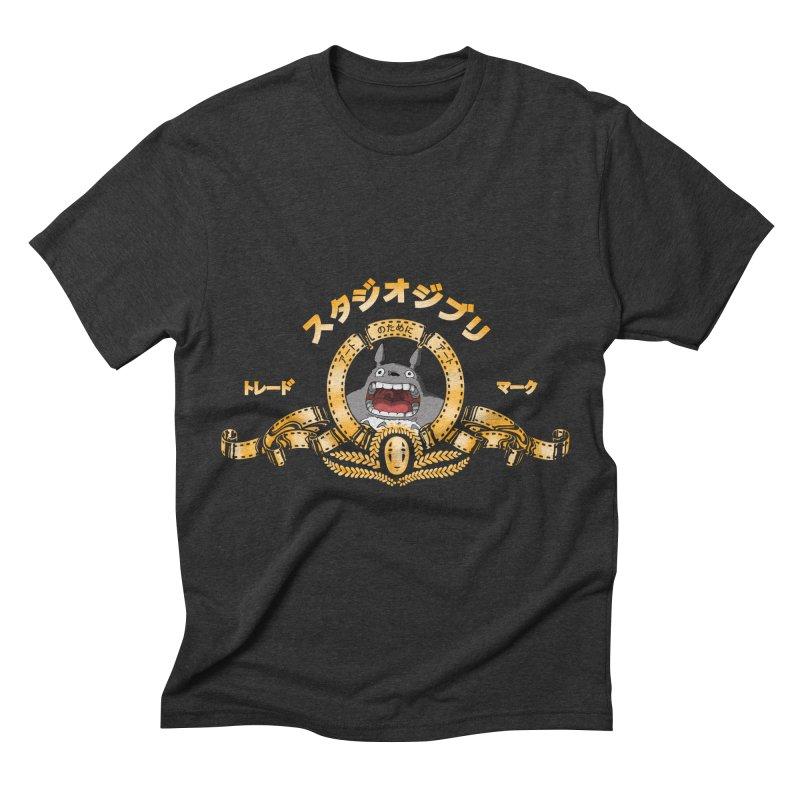 Ghibli Republic Men's Triblend T-shirt by lirovi's Artist Shop