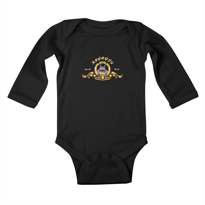Ghibli Republic Kids Baby Longsleeve Bodysuit by lirovi's Artist Shop