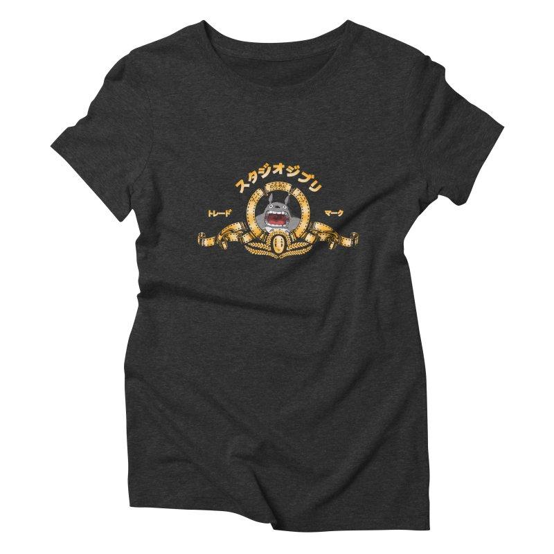 Ghibli Republic Women's Triblend T-shirt by lirovi's Artist Shop