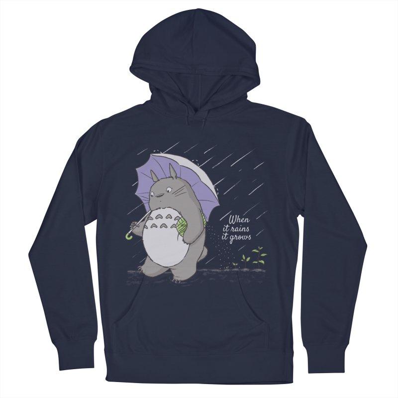 When it rains Women's Pullover Hoody by lirovi's Artist Shop