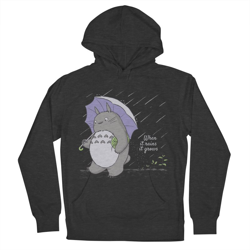 When it rains Men's Pullover Hoody by lirovi's Artist Shop