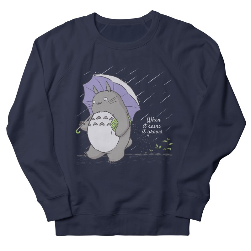 When it rains Women's Sweatshirt by lirovi's Artist Shop