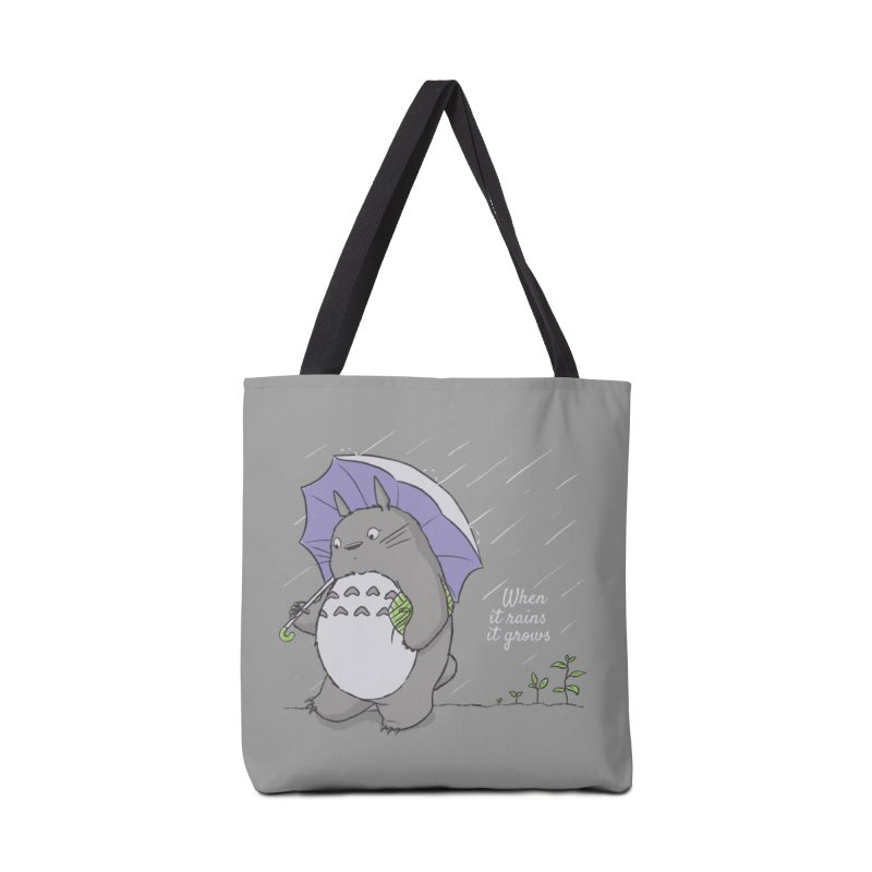 When it rains Accessories Bag by lirovi's Artist Shop