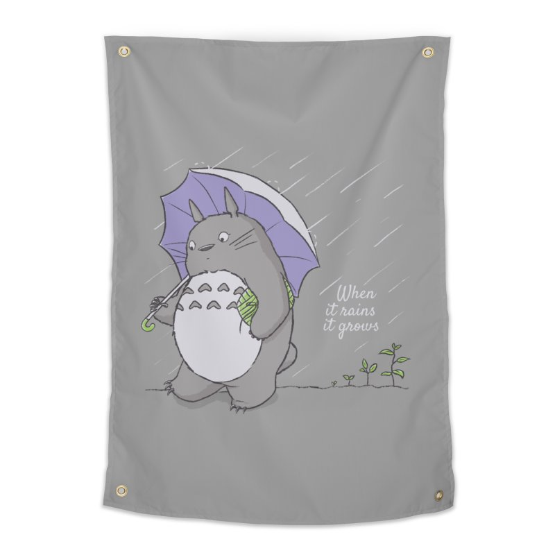 When it rains Home Tapestry by lirovi's Artist Shop