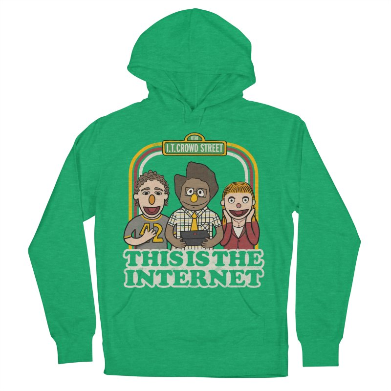 This is the internet Men's Pullover Hoody by lirovi's Artist Shop