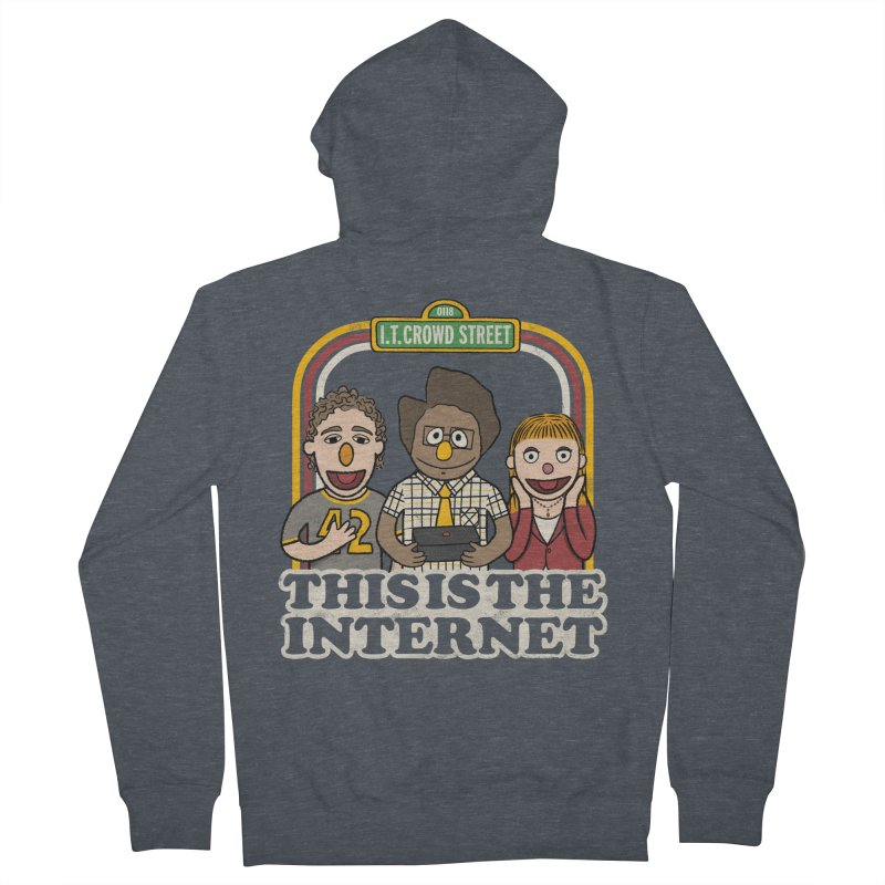 This is the internet Women's Zip-Up Hoody by lirovi's Artist Shop