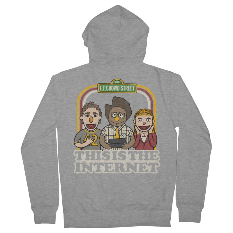 This is the internet Women's Zip-Up Hoody by lirovi's Artist Shop