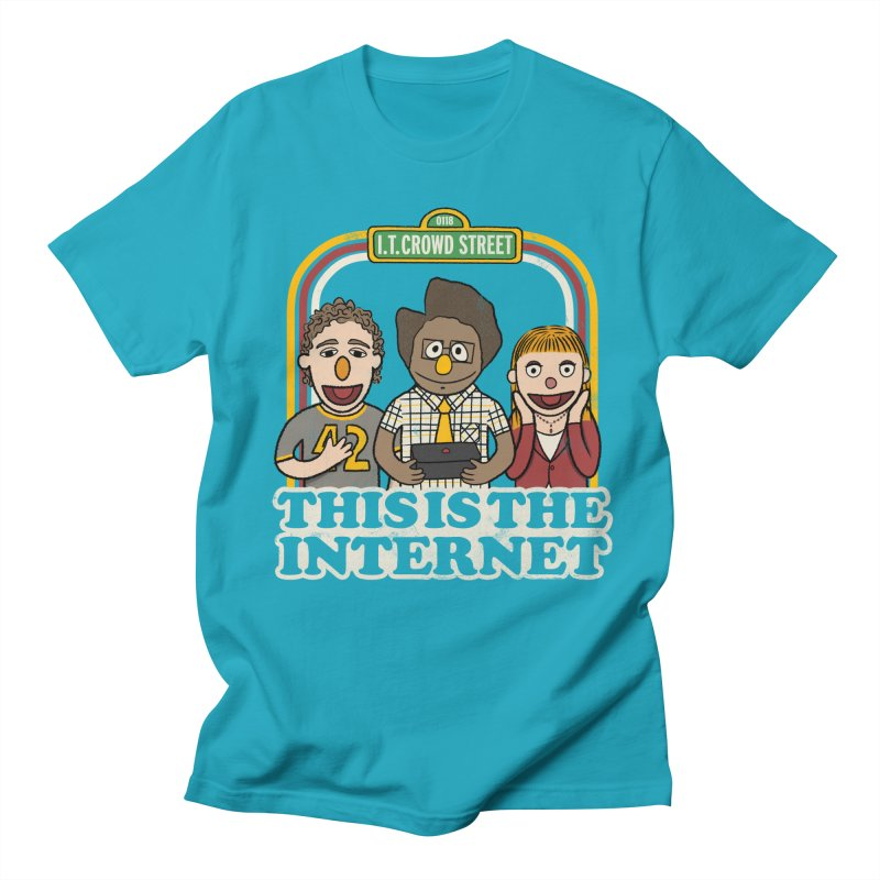 This is the internet Men's T-Shirt by lirovi's Artist Shop