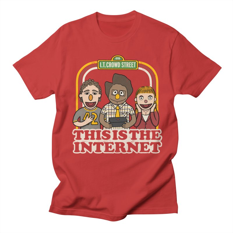 This is the internet Men's T-shirt by lirovi's Artist Shop