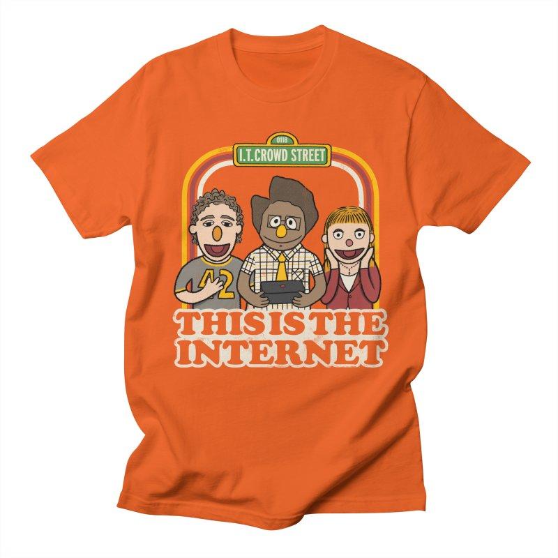 This is the internet Women's Unisex T-Shirt by lirovi's Artist Shop