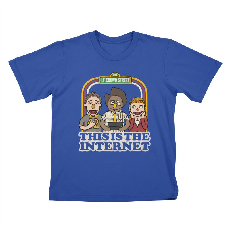 This is the internet Kids T-shirt by lirovi's Artist Shop