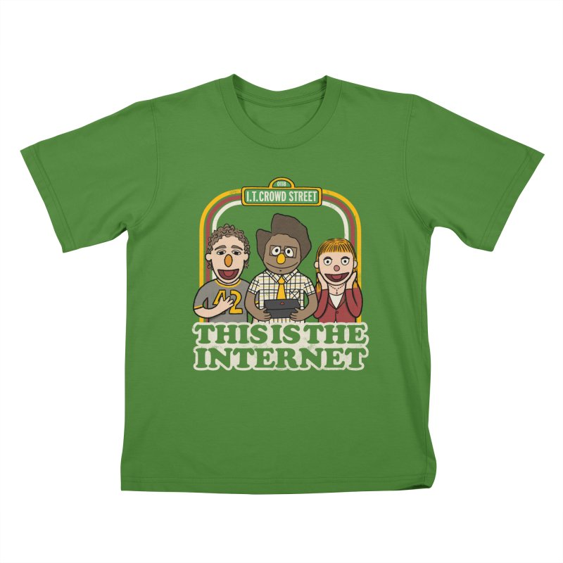 This is the internet Kids T-shirt by lirovi's Artist Shop