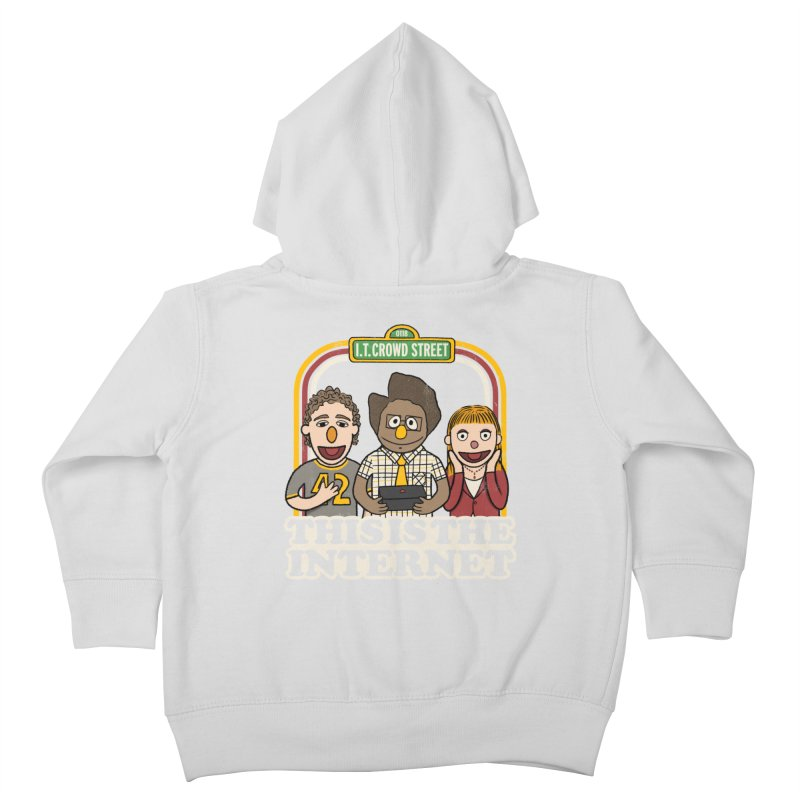 This is the internet Kids Toddler Zip-Up Hoody by lirovi's Artist Shop