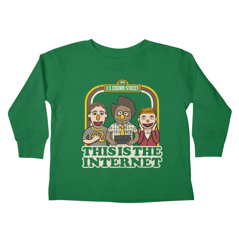 This is the internet Kids Toddler Longsleeve T-Shirt by lirovi's Artist Shop
