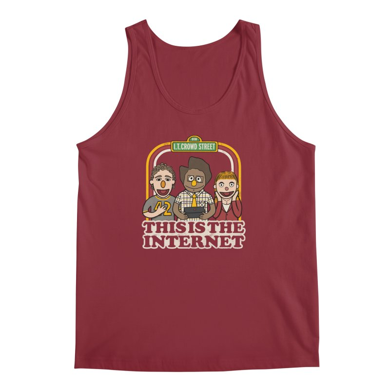 This is the internet Men's Tank by lirovi's Artist Shop